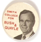 Smith College for Bush and Quayle