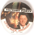 Clinton Little Rock Victory Party 1996