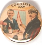 Obama-Hillary Clinton Equality 2009