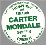 Carter, Humphrey, Griffin Minnesota Coattail