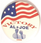 Victory for Al and Joe