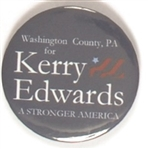 Washington County, PA. for Kerry-Edwards