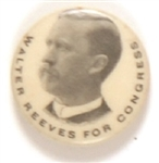 Walter Reeves for Congress, Illinois