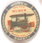 The New Huber Tractor Advertising Pin