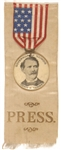 Governor John Tanner of Illinois Press Badge