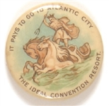 Atlantic City Ideal Convention City Neptune Pin