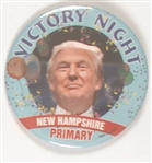 Trump Victory Night New Hampshire Primary
