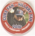 Cubs Fan for Hillary Clinton