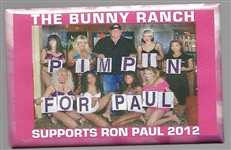 Bunny Ranch Pimpin for Ron Paul