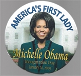 Michelle Obama First Lady 2009 Inaugural Pin