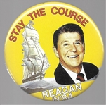 Reagan Stay the Course