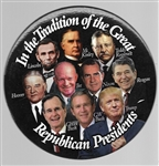 Trump in the Tradition of Great Republican Presidents