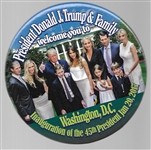 Donald Trump and Family Inaugural Pin