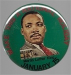 Martin Luther King Make a National Holiday