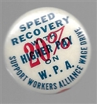 Speed Recovery WPA Pin
