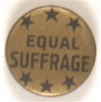 Equal Suffrage Celluloid