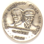 Ike and MacArthur World War II Medal