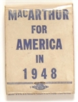 MacArthur for America Matchbook