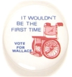 George Wallace Wheelchair