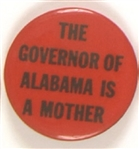 Lurleen Wallace, Governor of Alabama is a Mother