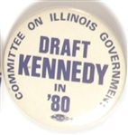 Illinois Draft Ted Kennedy in 80