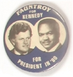 Fauntroy for Ted Kennedy