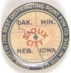 Sioux City Advertising Pin