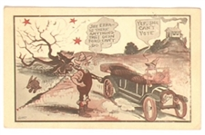 Ford Postcard With Suffrage Theme