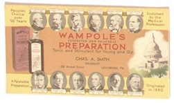 Hoover and Presidents Wampoles Preparation Blotter