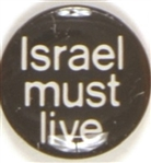 Israel Must Live