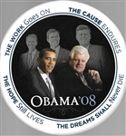 Obama-Kennedys Dreams Shall Never Die 9-Inch Celluloid