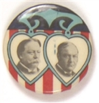 Taft-Sherman Hearts Jugate Rare Version