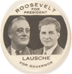 Roosevelt and Lausche Ohio Coattail Black Letter Version