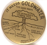 Goldwater, the Democratic Lyndon Tree