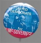 McGovern, Daley, Ted Kennedy United Democrats