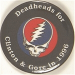 Deadheads for Clinton and Gore