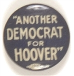 Another Democrat for Hoover