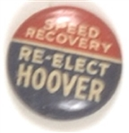 Re-Elect Hoover Speed Recovery