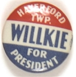 Haverford Township for Willkie