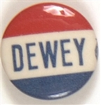 Dewey Red, White, Blue Celluloid