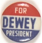Dewey for President RWB Celluloid