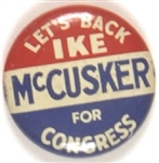 Back Ike, McCusker for Congress