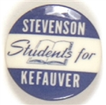 Students for Stevenson, Kefauver