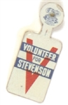Volunteer for Stevenson Tab