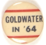 Goldwater in 64 RWB Celluloid