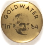 Goldwater in 64 Gold and Black Celluloid