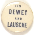 Dewey and Lausche Ohio Coattail