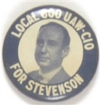 Stevenson Local 600 UAW-CIO Rare Celluloid