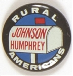 Rural Americans for Johnson-Humphrey