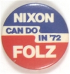 Nixon Can Do It, Folz Indiana Coattail